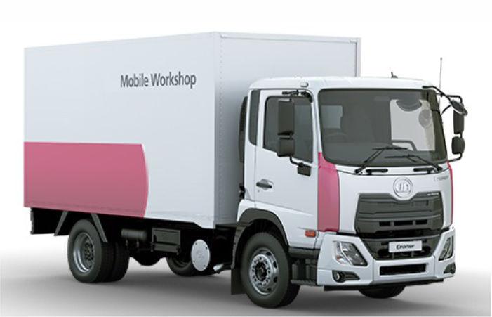 Mobile Work Shop on Mitsubishi Canter – Al Adil Auto
